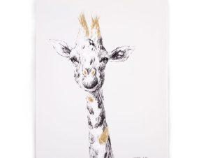 Κάδρο ChildHome Giraffe Gold 73451