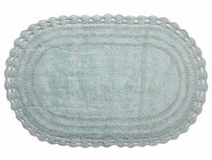 Πατάκι Μπάνιου (60×100) Silk Fashion Οβάλ Mint