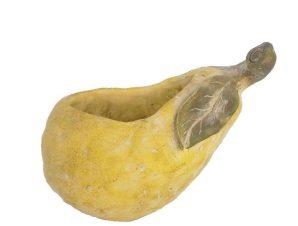 Κασπώ Αχλάδι JOE201 23×15,5x20cm Yellow Espiel Τσιμέντο