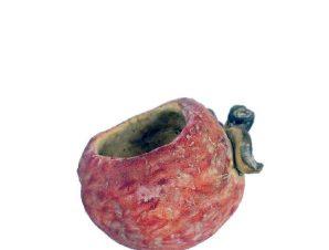 Κασπώ Φράουλα JOE212 19,5x16x14,5cm Red-Green Espiel Τσιμέντο
