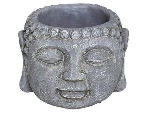 Κασπώ Βούδας 07.168503A Φ11,5cm Grey Τσιμέντο