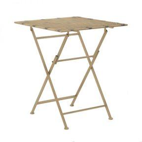Inart Πτυσσόμενο Τραπέζι 3-50-207-0100