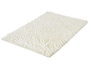 Πατάκι Μπάνιου Falbala 4090 White Kleine Wolke Large 60x90cm