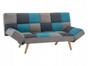 Καναπές-Κρεβάτι Τριθέσιος HM3167.11 182Χ80Χ88Υcm Multi