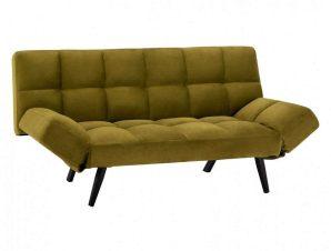 Καναπές-Κρεβάτι Τριθέσιος HM3167.13 182Χ80Χ88Υcm Olive