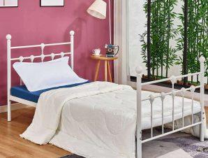 Κρεβάτι HM574.02 190Χ90cm White Μονό