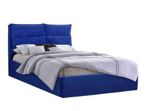 Κρεβάτι Royalty HM563.08 160Χ200cm Blue Υπέρδιπλo
