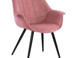 Πολυθρόνα Benjamin HM8682.02 69x68x78cm Dusty Pink
