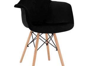 Πολυθρόνα Mirto HM8720.04 62x62x80Υcm Black