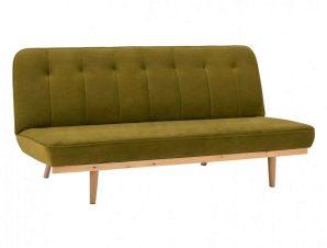 Καναπές-Κρεβάτι Τριθέσιος HM3168.13 193Χ85Χ88Υcm Olive
