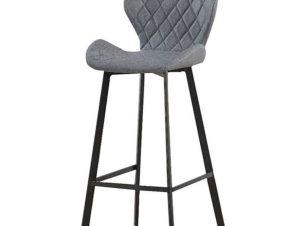 Σκαμπό Martin 43.1358 46,5Χ48,5Χ73/79/105cm Grey