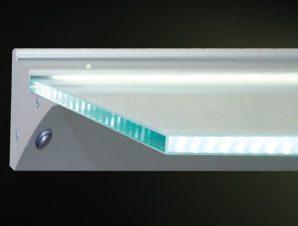 Ράφι Φωτιζόμενο Led monoTEO 200-188M600 60×17,6cm 3w 4000K Clear