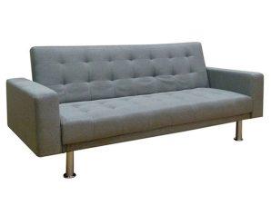 Καναπές-Κρεβάτι Vitalia 40.0033 194Χ93Χ84cm Grey