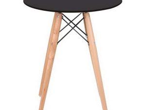 Τραπέζι Art Wood Ε7082,2 D. 60cm H.70,5cm Black