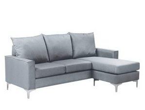 Καναπές Γωνιακός (Αναστρέψιμη Γωνία) Avant Ε9684,3 192x127x72/H.83cm Light Grey