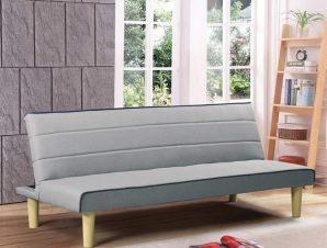 Καναπές – Κρεβάτι Biz Ε9438,1 167x75x70cm/167x87x32 Light Grey