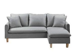 Καναπές Γωνιακός (Αναστρέψιμη Γωνία) Elisa Ε9925,3 197x133x76cm H.88cm Light Grey