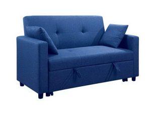 Καναπές – Κρεβάτι Διθέσιος Imola Ε9921,24 154x100x93/130x190x44cm Blue