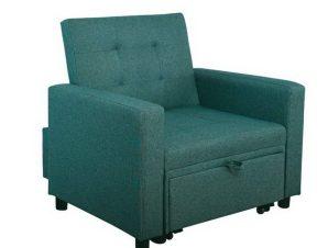 Πολυθρόνα – Κρεβάτι Imola Ε9921,15 100x102x92/75x180x44cm Petrol