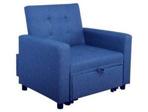Πολυθρόνα – Κρεβάτι Imola Ε9921,14 100x102x92/75x180x44cm Blue