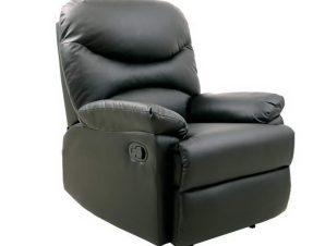 Πολυθρόνα Relax Luisa Ε9780,4P 80x90x99cm Black