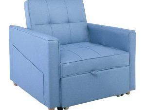 Πολυθρόνα – Κρεβάτι Symbol Ε9930,14 82x93x90 – 60x175x46cm Blue