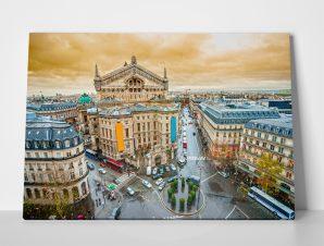 Πίνακας VIEW OF OPERA GARNIER PARIS