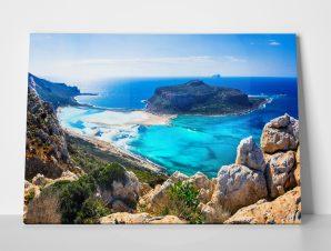 Πίνακας AMAZING SCENERY GREEK ISLANDS BALOS BAY CRETE