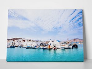 Πίνακας BEAUTIFUL NAOUSA VILLAGE PAROS ISLAND CYCLADES