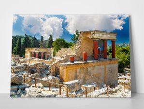 Πίνακας KNOSSOS PALACE CRETE RUINS HERAKLION GREECE