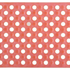 Viopros Αντιολισθητικό Πατάκι PVC 40×60 Όρμπιτ Πορτοκαλί