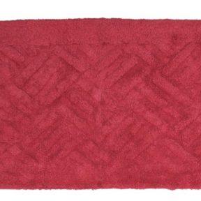 Viopros Ταπέτο Μπάνιου 50×80 Άλφα Κόκκινο